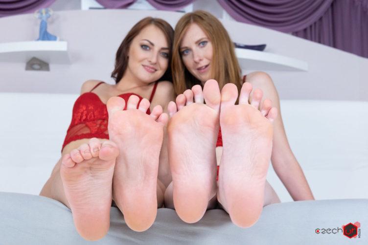 Feet Loving with Katy Rose & Linda Sweet